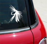 Fishing Fish Lure Fly Hook Lake Sea Ocean Graphic Decal Sticker Vinyl