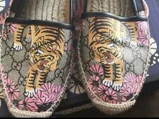 Gucci Tiger Espadrilles Flats Size 38