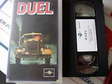 vhs - duel - steven spielberg - universal video