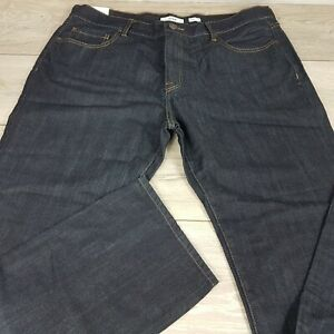 OPEN Mens jeans Regular Fit trousers bottoms Dark Wash Blue W38 L32 NEW A113-7