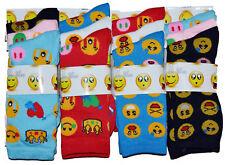3,6 Pairs Women Ladies Girls Emoji Socks Icons Cartoon Colour Design Socks UK4-7