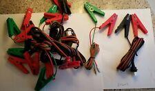 Stafix fence lead set cables. 5 pair
