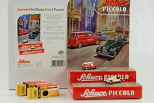 Austin Mini Van Morgan + 8 Mini Display 1:90 Schuco Piccolo