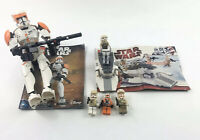 LEGO Star Wars Rebel Trooper 8083 & Commander Cody 75108 READ