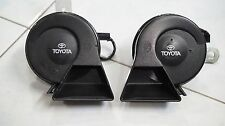 GENUINE FROM TOYOTA ELECTRIC TWIN HORN Frequency 400Hz low tone 500Hz high tone
