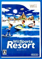 Wii Sports Resort - Nintendo 12 Sports Games included from Japan F/S