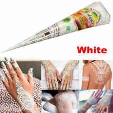 25g Natural Herbal Temporary Tattoo White Henna Cones Body Art Paint Mehandi Ink