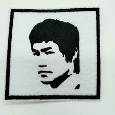 "BRUCE LEE PATCH 3""x 3""MARTIAL ARTS MOVIES ICONIC FIGURE"