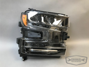 Chevrolet Silverado 1500 2019 2020 RH Right Full LED Headlight OEM