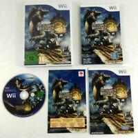 Jeu WII VF  Monster Hunter 3 Tri  avec notice  Envoi rapide et suivi