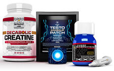 Testo anabolizzanti patch + testo EXTREME anabolizzanti + decabolic Creatina No HGH O Steroidi