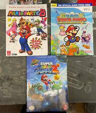 Game Guide LOT: Mario Party 8, Super Mario Galaxy 2, Super Paper Mario