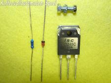 1 x rep. Kit 7 Teile BD 245C ersetzt TIP33C Saeco und Baugleiche Brühgr. Block.