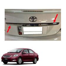 For Toyota Vios Yaris Sedan Belta 10 - 2012 13 Rear Trunk Lid Cover Upper Chrome