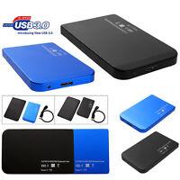 2.5'' USB 3.0/USB 2.0 SATA SSD HDD Hard Drive Dock Enclosure Case Station Box