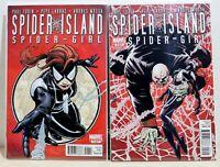 Marvel Comics Lot (2) - Spider-Island Spider-Girl #1 2 (2011) - NM Near Mint