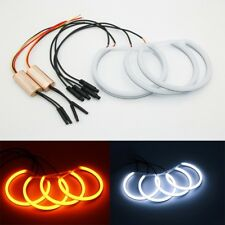 KIT COTTON LED ANGEL EYES COLORES DUALES BMW E46 CON FAROS SIN PROYECTORES