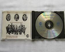 BRAHMS/BUSCH QUARTET-BRAIN-SERKIN-KELL Horn trio/Clarinet quintet RARE CD (1990