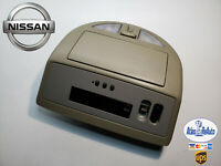 04-09 Nissan Armada Titan QX56 Overhead Console Sunroof Map Light HomeLink. Tan