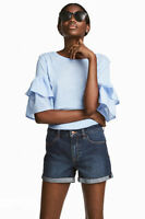 HM, women H&M Denim Shorts. Hot pants size 6,8,10,12,14,16