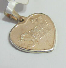"Genuine Sterling Silver 925 Charm Pendant - Heart Shape ""Someone Special"" - NEW"