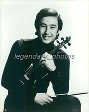 Portrait of Violinist Daniel Heifetz Original News Service Photo