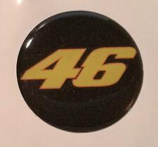 1 ADESIVO sticker bollino targa/plate 46 THE DOCTOR VR46 VALENTINO Rossi 3D