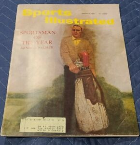 Sports Illustrated Arnold Palmer Sportsman Of The Year January 9 1961