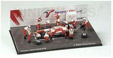 Toyota TF 102 Panasonic - Diorama Pit Stop - GP FI 2002 #25 - Minichamps
