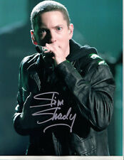 EMINEM - RAPPER - UPCLOSE - HAND SIGNED AUTOGRAPHED PHOTO WITH COA
