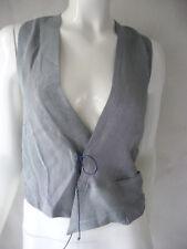 SULU KERSTIN BERNECKER Vest Size 44 Col88 Blue NEW