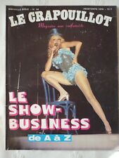 Le crapouillot N° 38 le show business de A à Z printemps 1976 magazine non confo