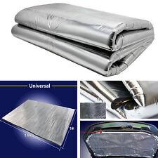 Aluminum Foil Sound Deadener Car Heat Shield Insulation Deadening Mat Hood Pad