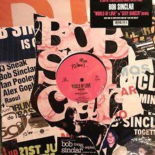 BOB SINCLAR • World Of Love • Vinile 12 Mix • YP 191