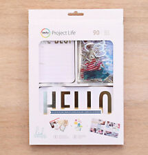 Project Life HEIDI SWAPP MINC DOCUMENTED 40-PK THEMED CARDS scrapbooking 380609