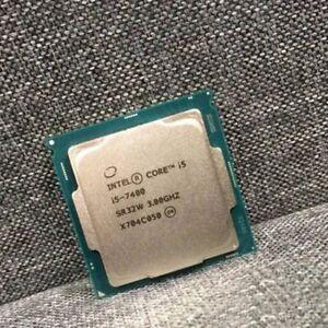INTEL Core i5 7400 Quad Core @ 3.00Ghz CPU Processor Socket 1151