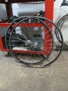Campagnolo RECORD CARBON 9-10 Speed 32Holes Mavic Rims Pro WheelSet Used Perfect