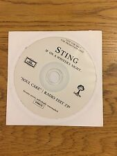 Sting The Police Soul Cake Promo Cd Single Radio Edit If On A Winter Night Tour