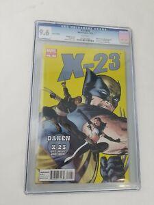 X-23 #15 1:50 Variant CGC 9.6 NM+ Marvel Comics 2011 Daredevil Homage Cover