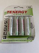 4PCS Tenergy Centura AA 2000mAh Low Self Discharge NiMH Rechargeable Batteries