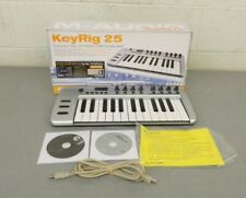 M-Audio KeyRig 25 Easy-to-Use 25-Note USB Keyboard w/Box Manual & Software GREAT