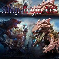 "4"" inch Pacific Rim 2: Uprising Sofvi Spirits Kaiju Monster Action Figure Toy"