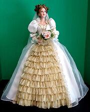 "2003 Ashton Drake Frog Princess Bride Doll Cindy McClure Fairy Tale 21""Porcelain"