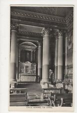 Castle Howard The Chapel Vintage RP Postcard 550a