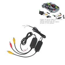 Video-Transmitter für Rückfahrkamera Chinch Funk Sender/Empfänger ohne KABELLOS