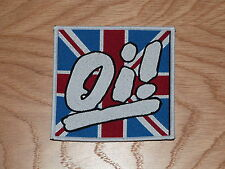 OI! - UNION JACK (NEW) SEW ON W-PATCH OFFICIAL BAND MERCHANDISE