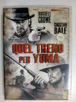 QUEL TRENO PER YUMA - FILM IN DVD -ORIGINALE DVD VERSIONE NOLEGGIO