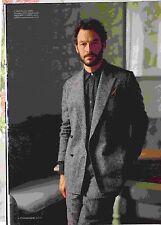 ES Magazine - Dominic West (The West Wing) & Model Adwoa Aboah