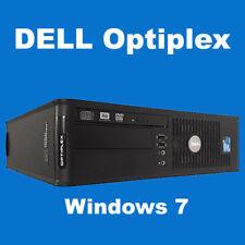 Torre de Windows 7 de Dell GX760 Core 2 Duo 2.8 GHz 120 HD 2GB Ram