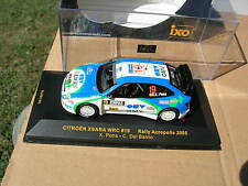 IXO models 1/43 CITROEN XSARA WRC N°19 Rallye ACROPOLIS 2005 Pons/Del Bario !!!